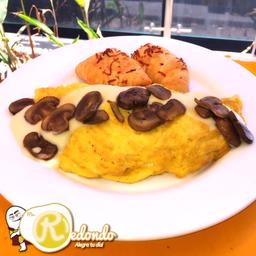 Mr. Omelette Pollo-Champiñones