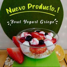 Bowl Yogurt Griego