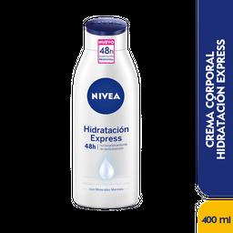 Nivea Crema Corporal Hidratación Express