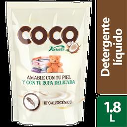 Detergente Liquido Coco Varela  1,8L Doypack