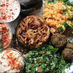 Plato Mixto Vegetariano