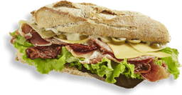 Sandwich Serrano Y Salami Gourmet