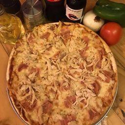 Pizza Pollo y Jamón