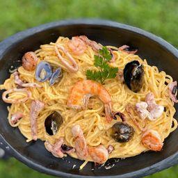 Pasta Mediterránea a la Marinera