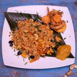 Arroz Bengali Vegetariano
