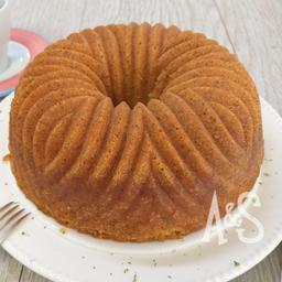 Torta de Limón y Amapola (10 porciones)