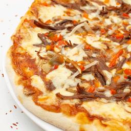 Pizza grande carnes bbq