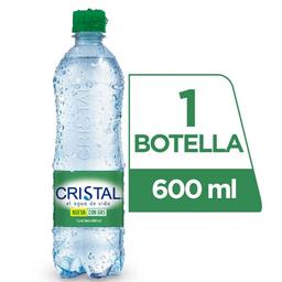 Agua Cristal con Gas 500 ml