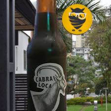 Cabra loca coffee ipa 330 ml