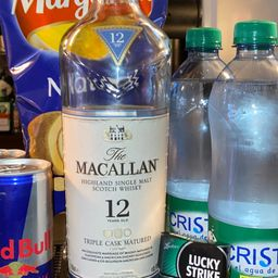 Combo Macallan 12 años 700ml