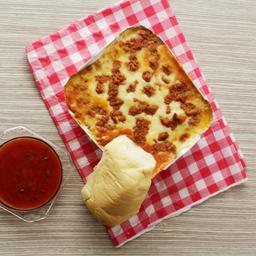 Lasagna de Carne y Pollo