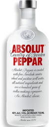 Vodka Peppar Absolut 750ML