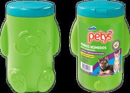 Paños Húmedos Petys Pote x 40 und