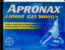 Apronax Liquid Gel 275Mg X 8 Caps