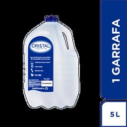 Agua Cristal Garrafa x 5 Litros