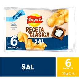 Margarita Papas Receta Clasica Natural