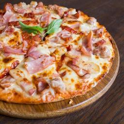 Pizza Jamón Queso Grande