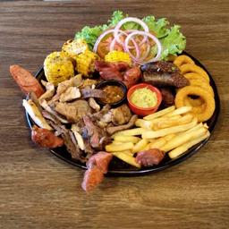 Mix de Carnes al Carbon (Para 2)