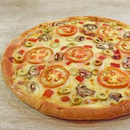 Pizza Vegetariana Única Mediana