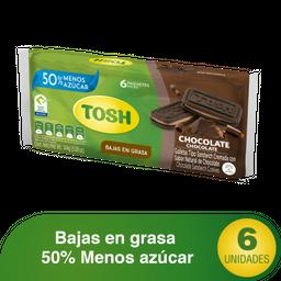 Galletas Tosh Chocolate x6un