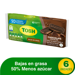 Galletas Tosh Chocolate x6un