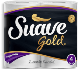 Papel Higienico Suave Gold Triple Hoja