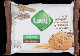 Galleta Integral Con Avena Y Chips Taeq
