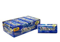 Trident Chicle Sin Azúcar Sabor Menta Pack