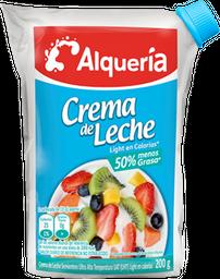 Crema de Leche Light Alqueria 200 g