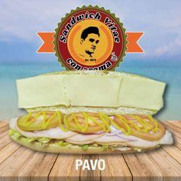 Sándwich Vitae Pavo
