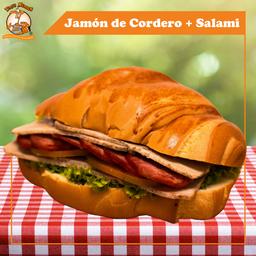 Munich Jamón de Cordero + Salami