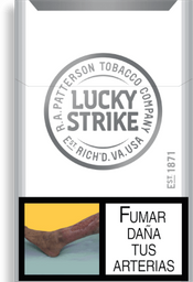 Cigarrillo Lucky Strike Silver Tube * 20