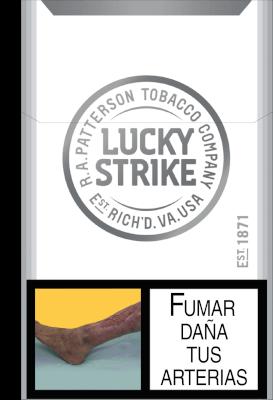 Cigarrillo Lucky Strike Silver Tube * 20 a domicilio en Colombia - Rappi
