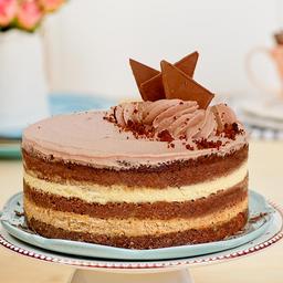 Torta / Postre Chocolate y Café  Apto para Diabéticos