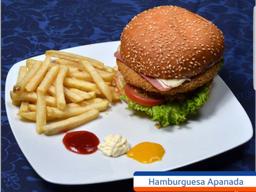 Combo Hamburguesa Apanada