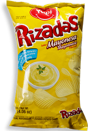 Papas Rizadas Mayonesa Familiar Yupi 115GR