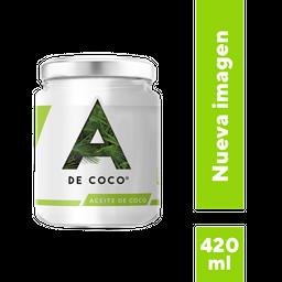 Aceite De Coco Virgen A De Coco 420 Ml