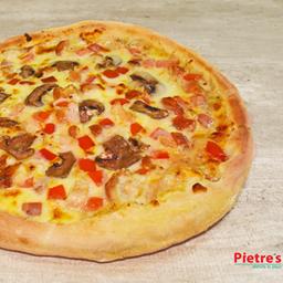 Pizza Suprema de Pollo Personal