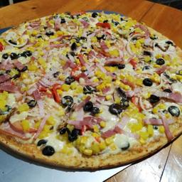 Pizza con Todo