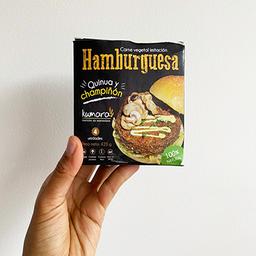 Hamburguesa Quinoa y Champiñón