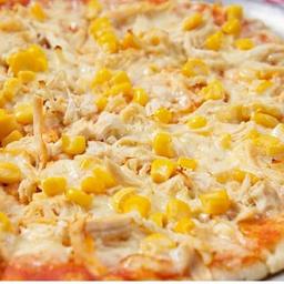 Pizza de Pollo y Maíz Personal