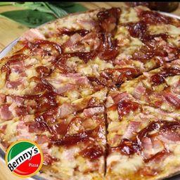 Pizza Tocineta y Cebolla Caramelizada