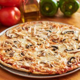 Pizza Pollo y Champiñones