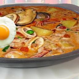 Sopa Criolla de Mariscos