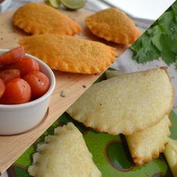 12 Empanadas Surtidas ( carne, queso y pollo )