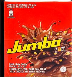 Chocolatina con Maní Jumbo