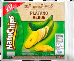 Natuchips Platano Verde X 12 Unidades
