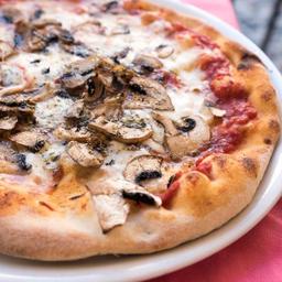 Pizza Champiñón Queso Grande