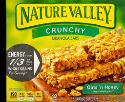 Nature Valley Granola Bars Crunchy