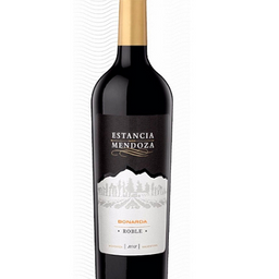 Botella Vino Estancia Mendoza roble Bonarda 750ml